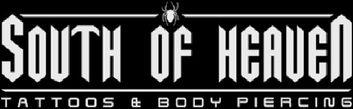 South of Heaven Tattoos Logo